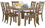 Standard Furniture Vintage Dining Table & 6 Side Chairs