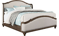 Standard Furniture Parliament Queen Upholstered Bed