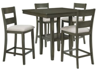 Standard Furniture Loft Counter Table & 4 Stools