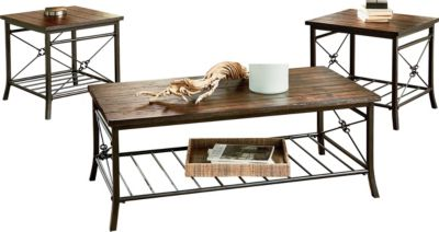 Standard Furniture Ainsley Coffee Table & 2 End Tables