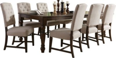 Standard Furniture Paisley Court Table & 8 Side Chairs