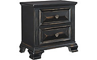 Standard Furniture Passages Black Nightstand