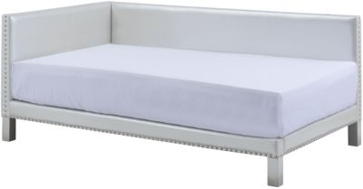 Standard Furniture Ryleigh Pearl Upholstered Corner Bed