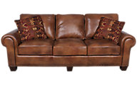 Steve Silver Silverado 100% Leather Sofa