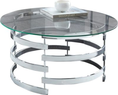Steve Silver Tayside Round Coffee Table