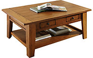 Steve Silver Liberty Golden Oak Coffee Table