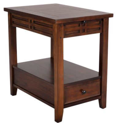 Steve Silver Crestline Chairside Table