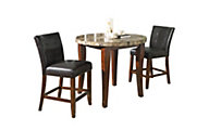Steve Silver Montibello Counter-Height 3-Piece Dining Set
