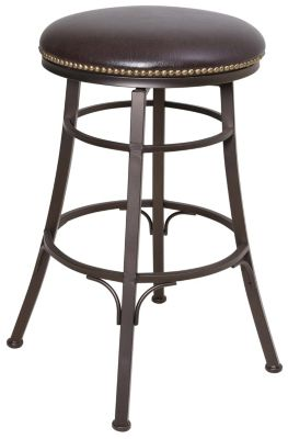 Steve Silver Bali Swivel Bar Stool