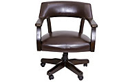 Steve Silver Ruby Captains Chair With Casters