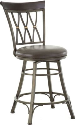 Steve Silver Bali Swivel Counter Stool