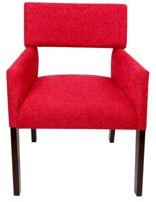 Steve Silver Amalie Red Side Chair