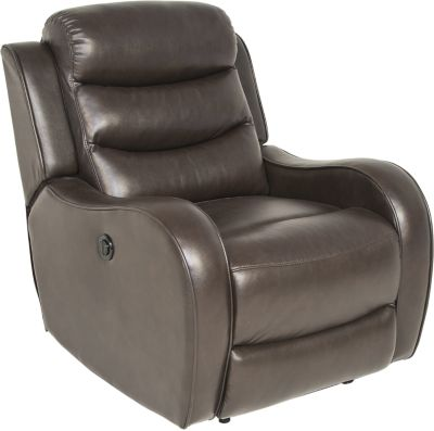 Steve Silver Wyatt Brown Power Recliner