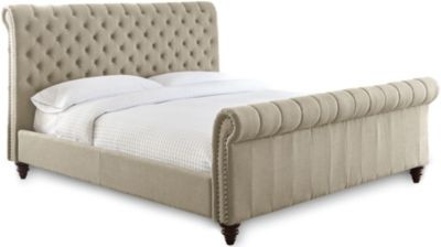 Steve Silver Swanson Queen Bed - Sand