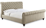 Steve Silver Swanson Sand Queen Upholstered Bed