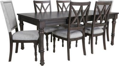 Steve Silver Linnett 7-Piece Dining Chair
