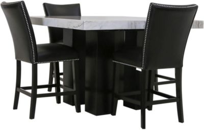 Steve Silver Camila Counter Table & 4 Stools