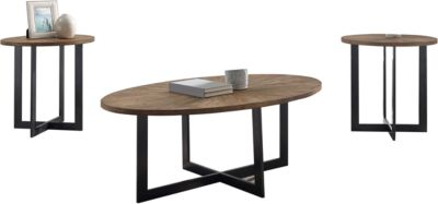 Steve Silver Colton Coffee Table & 2 End Tables