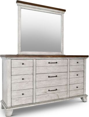 Steve Silver Bear Creek Dresser with Mirror