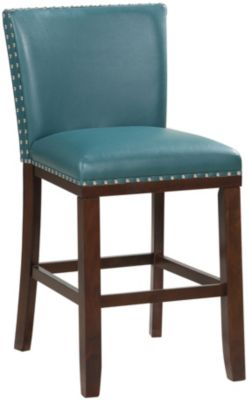 Steve Silver Tiffany Teal Counter Stool