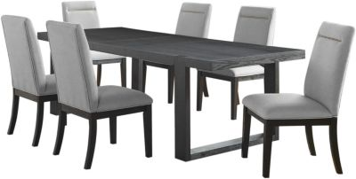 Steve Silver Yves 7-Piece Dining Set