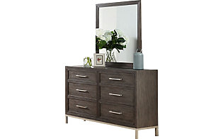 Steve Silver Broomfield Dresser with Mirror