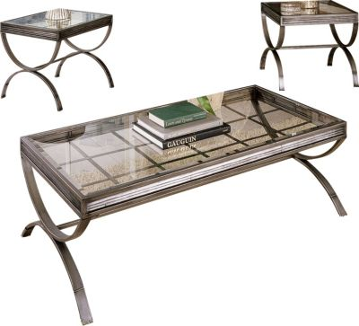 Steve Silver EmersonCoffee Table & 2 End Tables