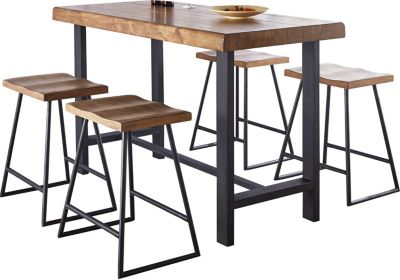 Steve Silver Landon 5-Piece Counter-Height Dining Set