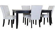 Steve Silver Markina White 5-Piece Dining Set