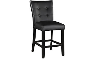 Steve Silver Markina Black Counter Stool