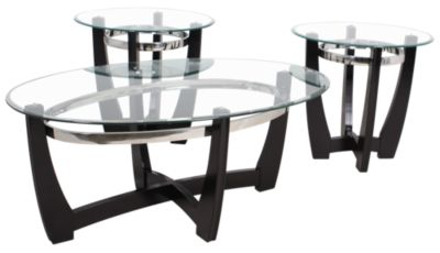 Steve Silver Matinee Coffee Table & 2 End Tables
