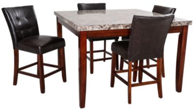 Steve Silver Montibello Counter Height 5 Piece Dining Set