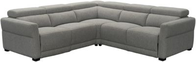 Stitch Seating 12196 Collection 3-Piece Power Headrest Sectional