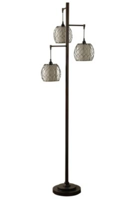 Stylecraft Antique Bronze Floor Lamp