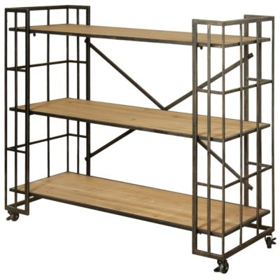 Stylecraft Industrial Short Bookcase