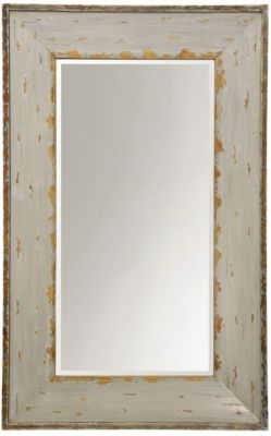 Stylecraft Ivory/Gold Weathered Mirror