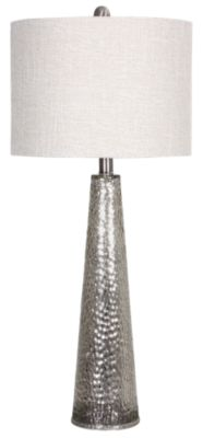 Stylecraft Glass Cone Table Lamp