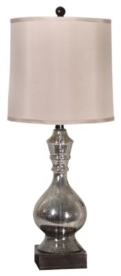 Stylecraft Mercury Glass Table Lamp