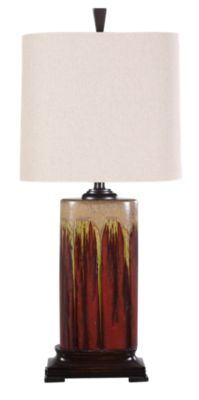 Stylecraft Red Table Lamp