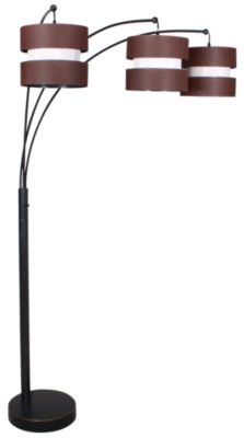 Stylecraft Bronze Arc Floor Lamp