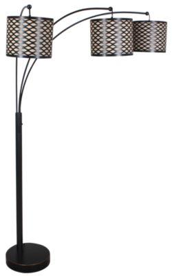 Stylecraft arc floor lamp homemakers furniture stylecraft arc floor lamp aloadofball Images