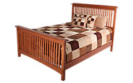 Surewood Oak Mission King Bed
