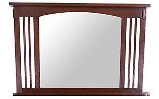 Surewood Oak Dark Chocolate Mirror