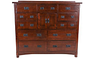 Surewood Oak Chocolate Mule Dresser