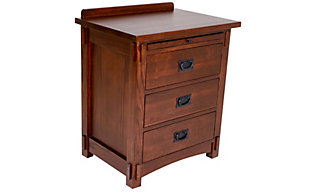 Surewood Oak Chocolate Nightstand