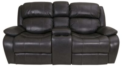 Synergy Palermo Leather Power Recline Loveseat