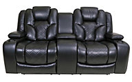 Synergy Tustin Power Recline Console Loveseat