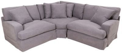 Synergy 1323 Collection 3-Piece Sectional with Slipcover