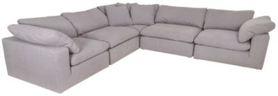 Synergy 1389 Collection 5-Piece Sectional with Slipcovers