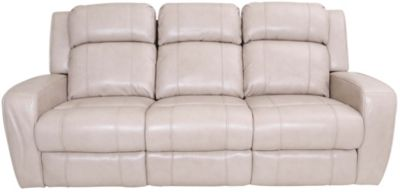 Synergy Livorno Power Reclining Leather Sofa